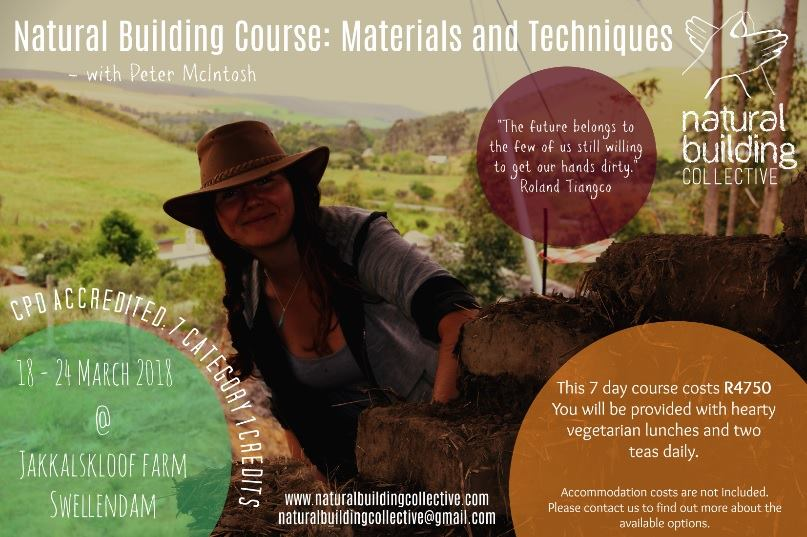 Natural Building Techniques : Caledonfm natural building course materials and techniques